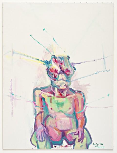Maria Lassnig - Sciencia (1998) – Courtesy MoMA PS1