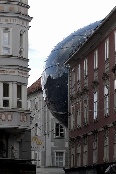 Kunsthaus Graz (dettaglio) – foto Universalmuseum Joanneum/Nicolas Lackner