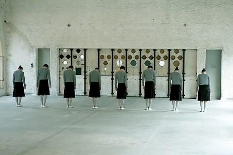 Claudia Castellucci - Socìetas Raffaello Sanzio, Scuola Stoa - foto di Federica Giorgetti