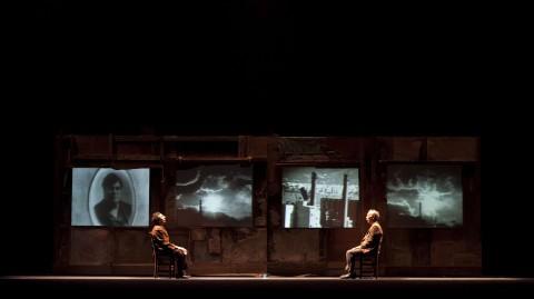 """Una scena da """"Lucio"""" - foto Ninni Annaloro"""