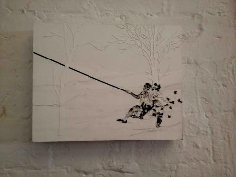 Uno degli ultimi lavori di Andrea Mastrovito