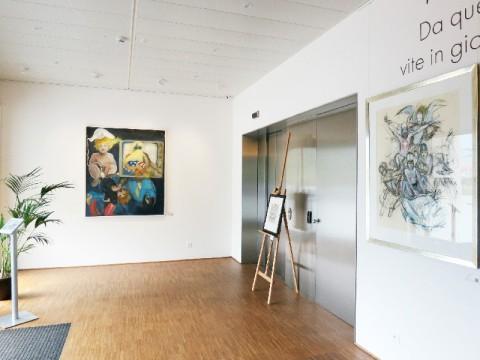 Da quell'istante: angeli, demoni, vite in gioco nell'opera di Mario Comensoli, Installation view, Artrust, Melano, Svizzera, fino al 15 giugno 2014