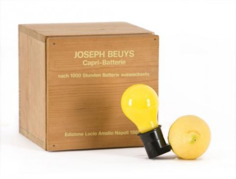 Joseph Beuys, Capri-Batterie (1985)