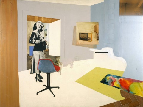 Richard Hamilton, Interior II, 1964. The estate of Richard Hamilton. Courtesy Tate, Londra