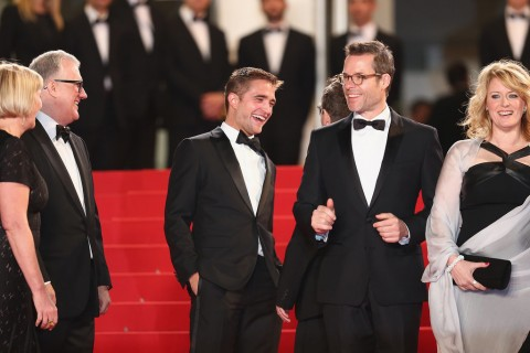 Robert Pattinson sul red carpet - Cannes 2014