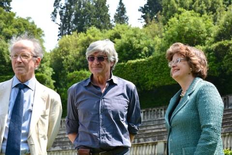 Sergio Givone, Giuseppe Penone, Cristina Acidini