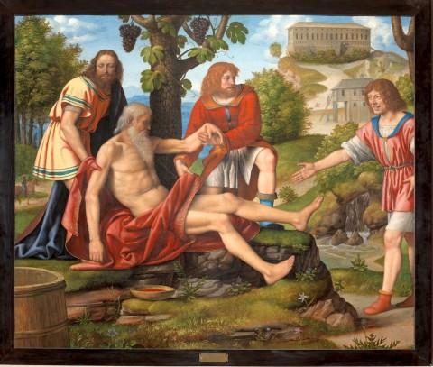 Bernardino Luini, Scherno di cam - 1514-1515 Pinacoteca di Brera, Milano