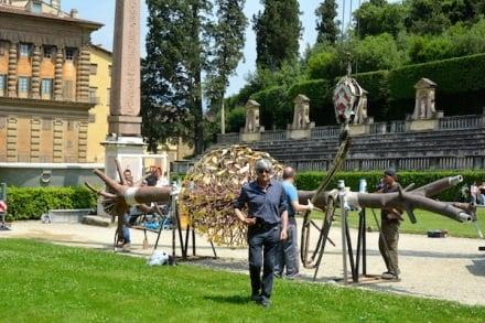 Giuseppe Penone, Luce e Ombra, Giardino di Boboli photo ©Giovanna Focardi Nicita