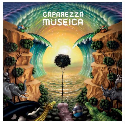 """La cover di """"Museica"""", ultimo album di Caparezza"""