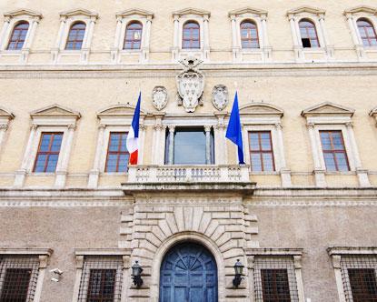 Palazzo Farnese, ovvero la Francia in Italia