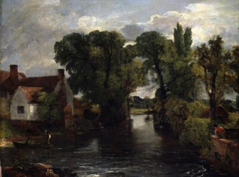 John Constable, Il canale presso il mulino - Colchester and Ipswich Museums  Service