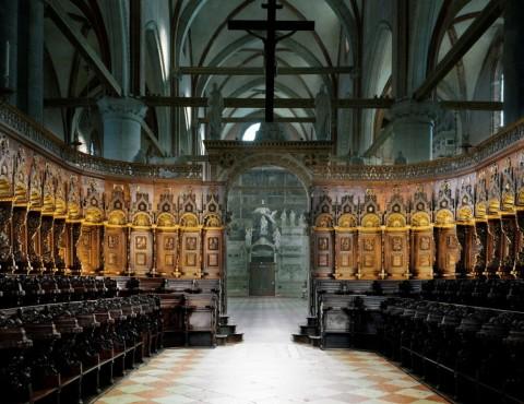 Axel Hütte, Santa Maria dei Frari, Italy, 2012. Per il luogo ritratto Courtesy Ufficio Beni Culturali del Patriarcato di Venezia