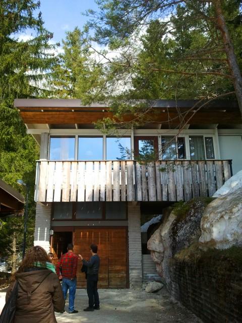 Esplorazioni all'ex Villaggio Eni di Borca