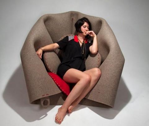 Freyja with Hush - credits designers in residence 2012