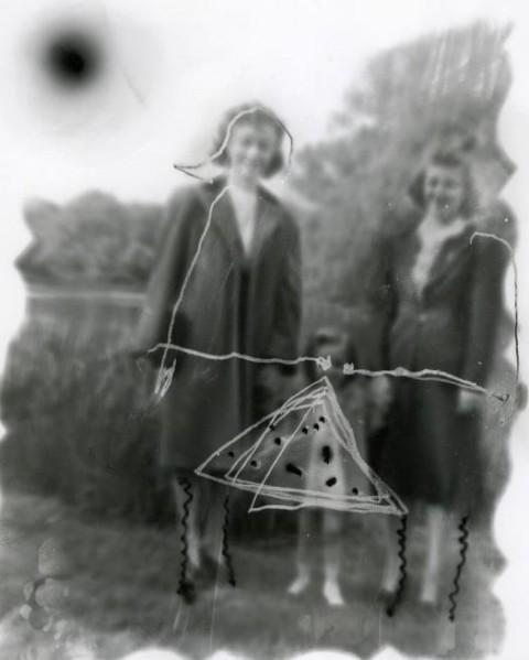 "Anamnesis - Gerald Slota, Daughter, unique silver gelatin print, 2006, 10"" x 8"""