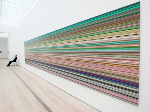 Gerhard Richter - veduta della mostra presso la Fondation Beyeler, Riehen 2014
