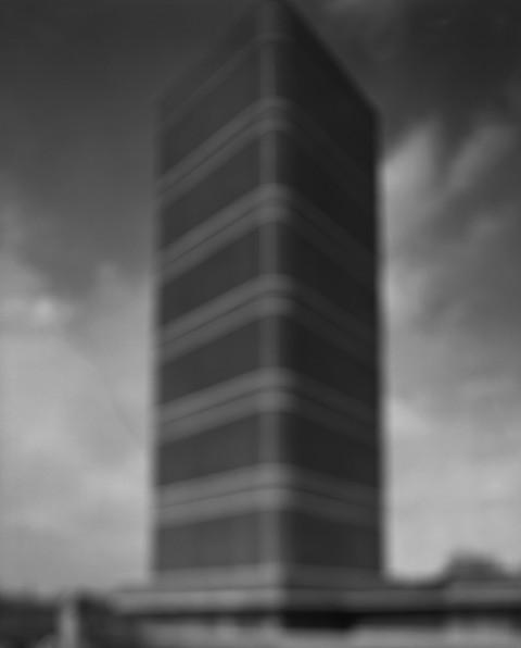 Hiroshi Sugimoto, S.C Johnson Building, 2001,  Gelatin silver print, cm 149X119.5