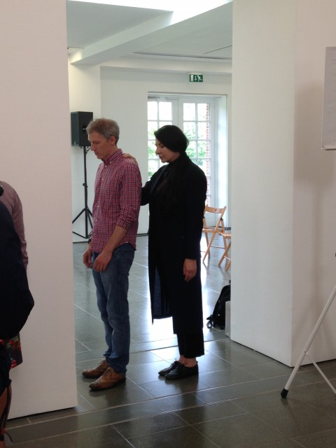 Marina Abramovic - Serpentine Gallery, Londra 2014
