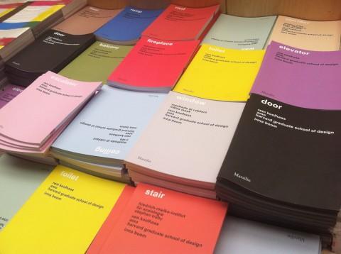 14. Biennale di Architettura di Venezia - i 15 volumi degli elementi di architettura