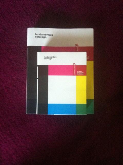 14. Biennale di Architettura di Venezia - le due versioni del catalogo