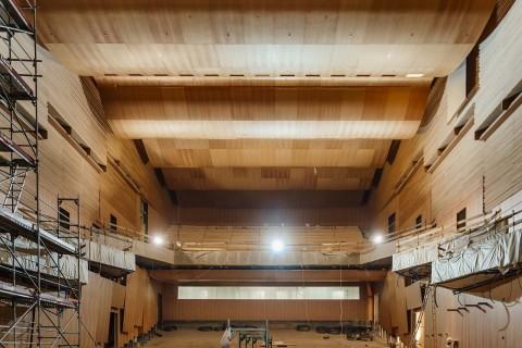 LAC Sala teatrale e concertistica - photo Salvatore Vitale, Città di Lugano