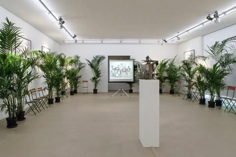 Le Corbeau et le Renard. Revolt of Language with Marcel Broodtaers - veduta della mostra presso il Museum für Gegenwartskunst, Basilea 2014