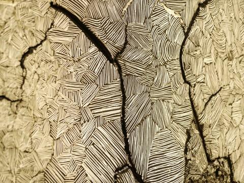Polignano, Museo Pascali - Un dettaglio dell'opera di Najada Mehmetaj