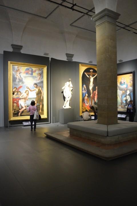 Puro, semplice e naturale nell'arte a Firenze tra il Cinque ed il Seicento, Galleria degli Uffizi, Firenze (foto Valentina Silvestrini)