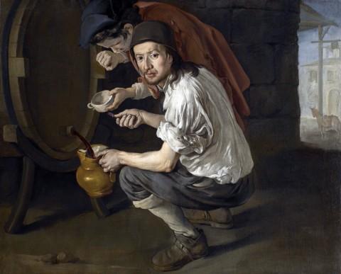 Giacomo Ceruti, La spillatura del vino