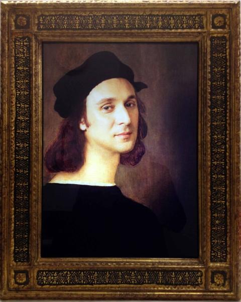 Vezzoli_Self Portrait As A Selfportrait (After Raffaello Sanzio)_Casa Martelli