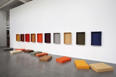 "Franz Erhrad Walther, ""Marburger Gesang"" - Installazione 1991"