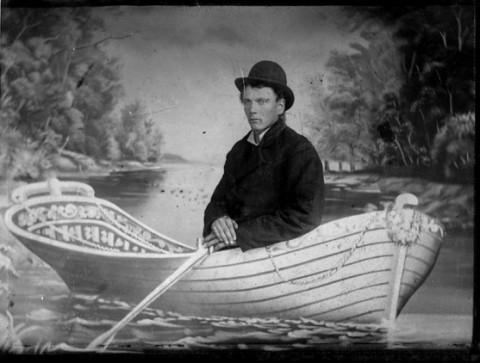 Linda Fregni Nagler, La tregua (ragazzo in barca), 2008