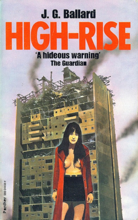 J.G. Ballard, High-Rise (1975), copertina originale