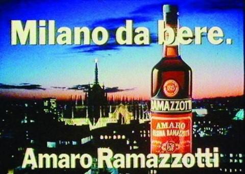 Marco Mignani, Milano da bere (spot Amaro Ramazzotti, 1985)