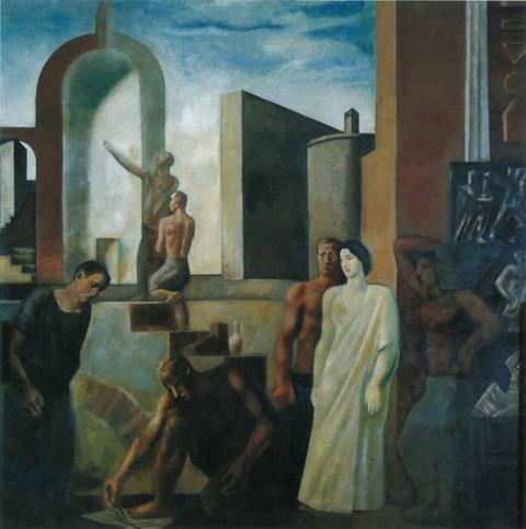 Mario Sironi, L'architettura o il lavoro in città (1932-34)