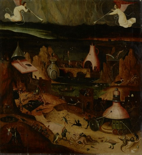 Seguace di Hieronymus Bosch – Il Giudizio universale, circa 1515-1520. Collezione privata