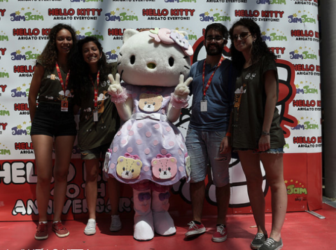 Giffoni 2014, 40° anniversario di Hello Kitty