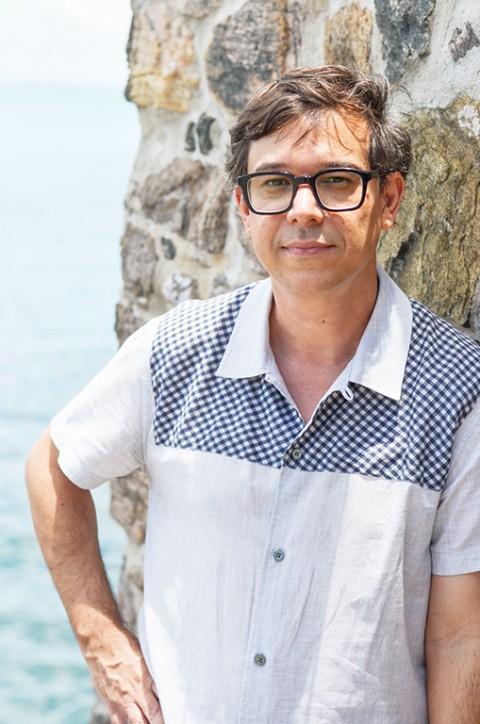 Marcelo Rezende, curatore della Bahia Biennale 3. Photo Lara Carvalho