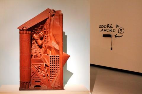 Gaetano Pesce in mostra al Maxxi - foto Cecilia Fiorenza