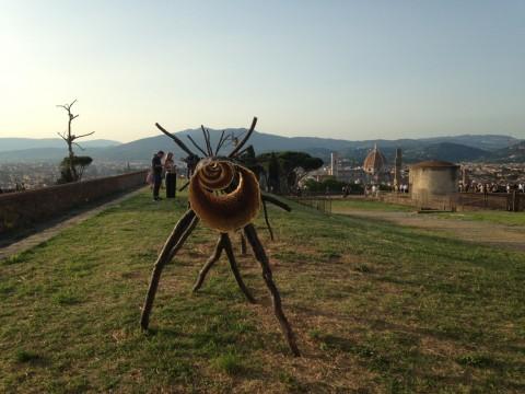 Giuseppe Penone a Forte Belvedere (foto Valentina Grandini)