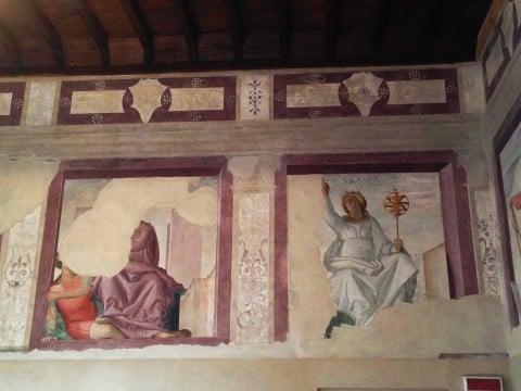 Gli affreschi di Bramantino a Voghera - foto Tiziana Vommaro