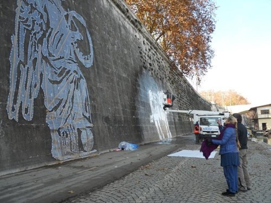 Il progetto di William Kentridge per i muraglioni del Tevere