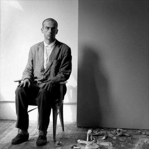 Jeannette Montgomery Barron – Francesco Clemente, studio, NYC, 1981 © Jeannette Montgomery Barron