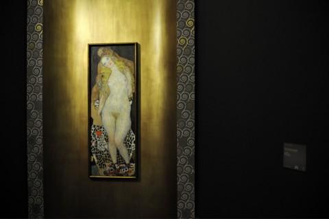KLIMT, alle origini di un mito - Milano, Palazzo Reale, 11/03/2014.  Ph: F_Stipari, 24OreCultura