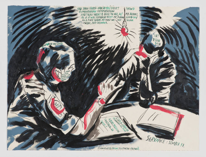 Raymond Pettibon, No title (And then I)