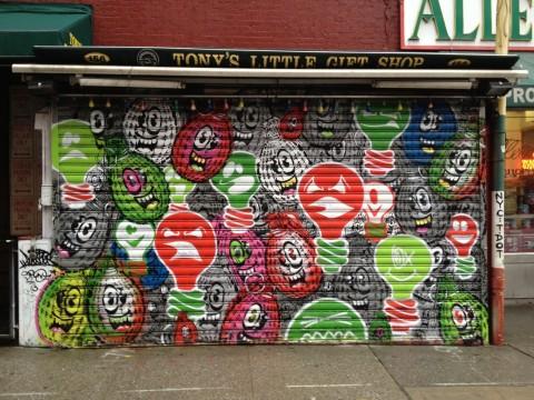 Street art a Little Italy
