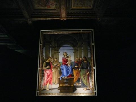La pala del Perugino in mostra a Senigallia