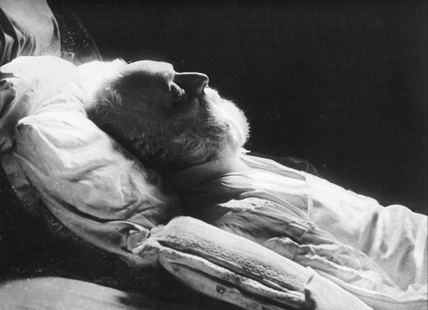 Nadar, Victor Hugo sur son lit de mort, 1885 (Paris, Musée d'Orsay)