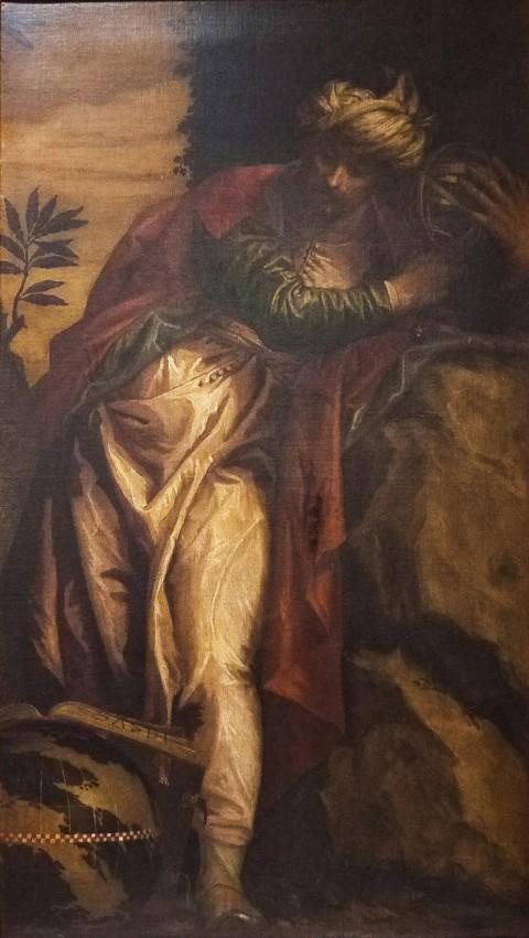 Paolo Veronese, Allegoria della Scultura, 1553 ca., Regione Piemonte, in affidamento alla Reggia di Venaria