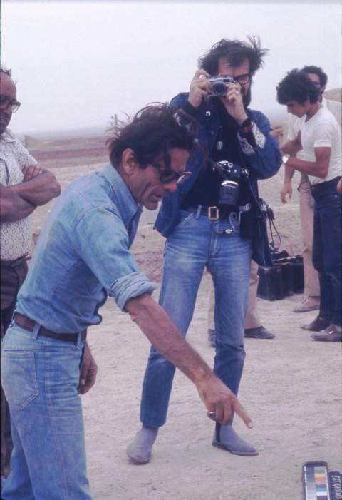 Roberto Villa, Pier Paolo Pasolini, 1973, Persia, Iran, Murcheh Khvort